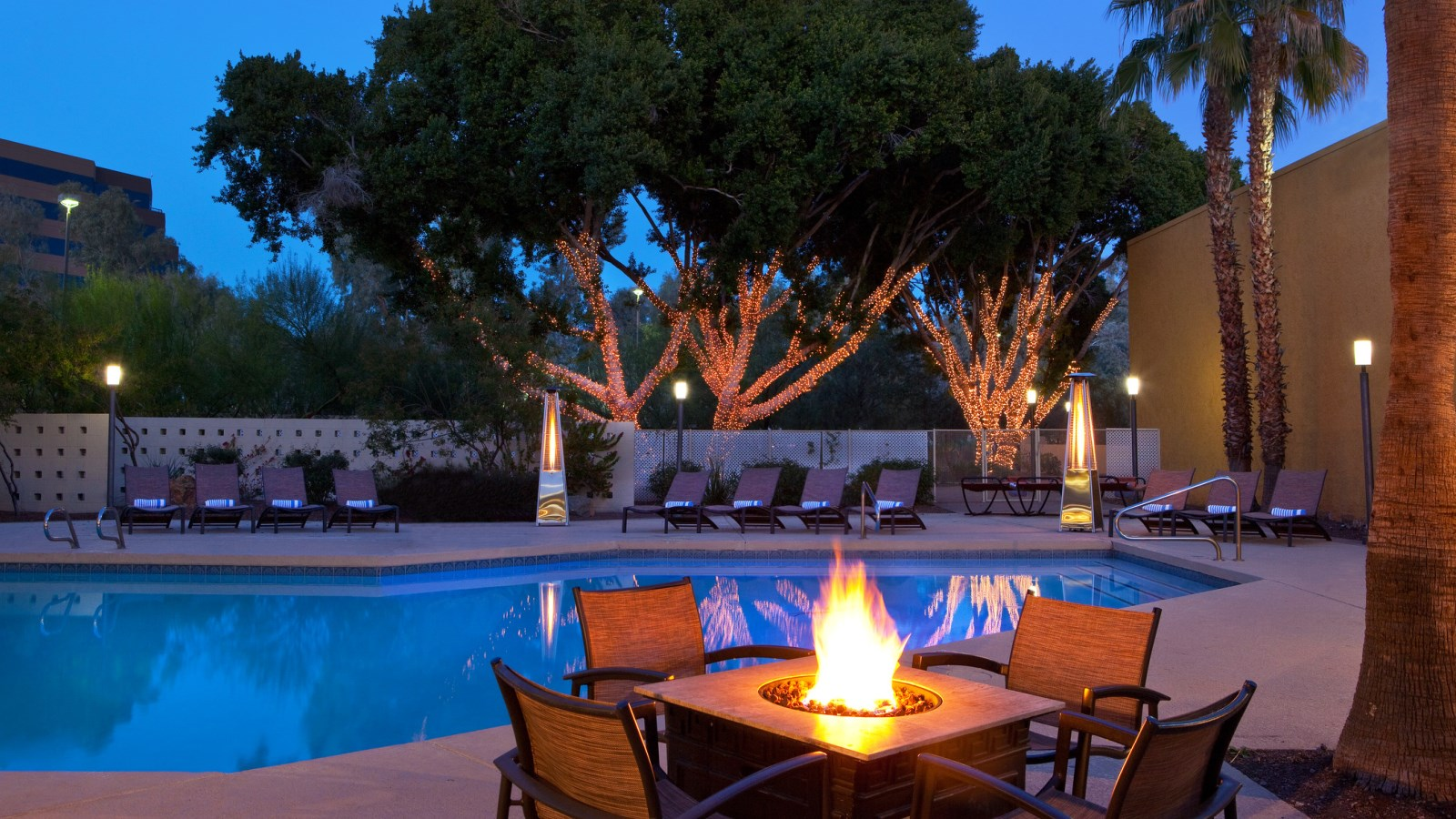 Event Venues in Phoenix  - Pool patio