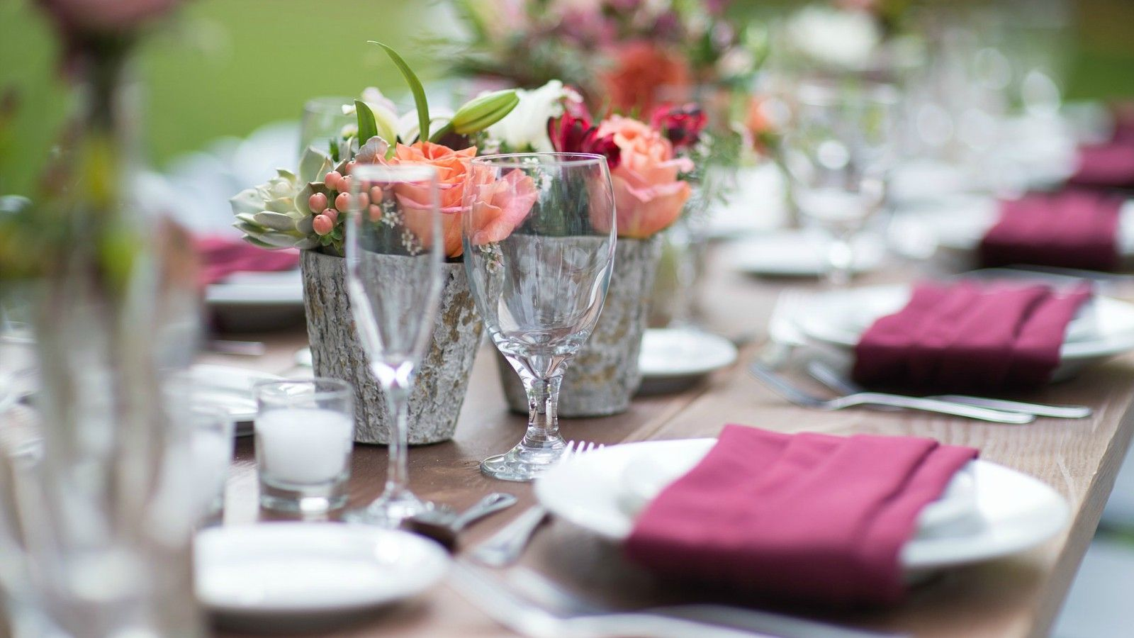 Wedding Venue in Phoenix - Table Setting
